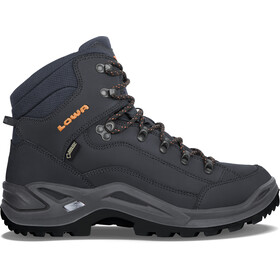 Lowa Renegade GTX Mid Kengät Miehet, navy/orange
